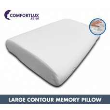 Large Extra Wide Traditional Memory Pillow