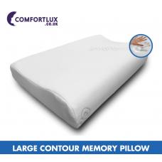 Large Contour Memory Pillow