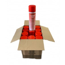 Silicone Spray - Box of 12 Cans