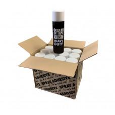 Heavy Duty Spray Adhesive  - Box of 12 Cans